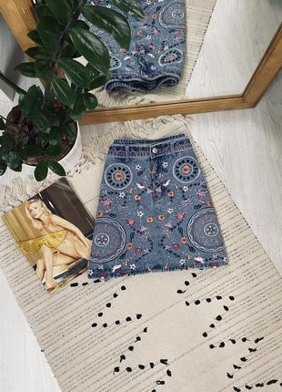 Класна джинсова юбка від denim co🌿