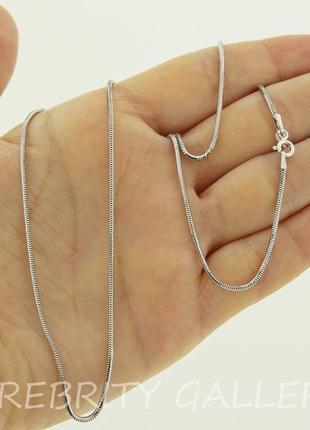 Цепочка серебряная sr tp140 sn rd 45 серебро 925 срібло 925 ланцюг срібний родій