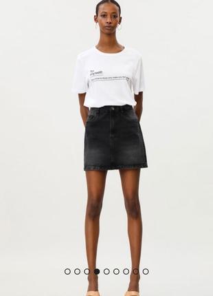Белая базовая футболка размер хл lefties