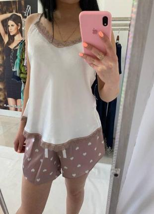 Пижама атласная