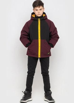 Демисезонная куртка для мальчика поло от cvetkov 128-158 р