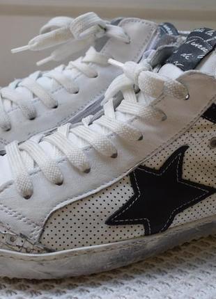 Модные кожаные кеды мокасинытуфли кроссовки италия р.39 26 см