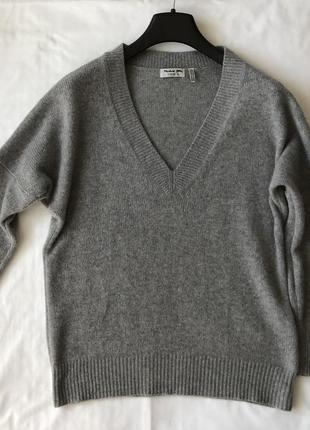 Кашемировый свитер michael stars. кашемир 100%