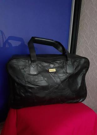Чёрная дорожная сумка ручная кладь beaugency