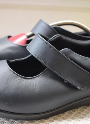 Кожаные туфли мокасины балетки лоферы cosyfeet р.39/40 26 см