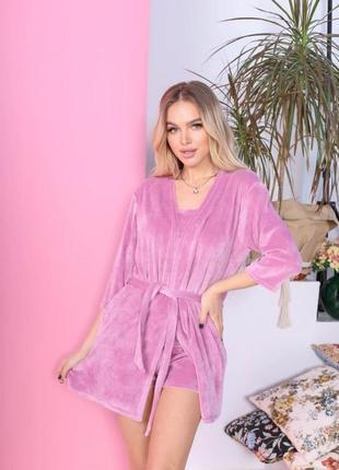 Домашняя одежда пижма ночнушка майка шорты халат цвета в ассортименте