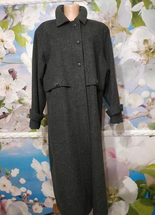 Пальто винтаж шерстяное 93% wooll virginia австрия