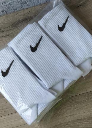 6 пар высокие носки в стиле nike 100% хлопок найк носки