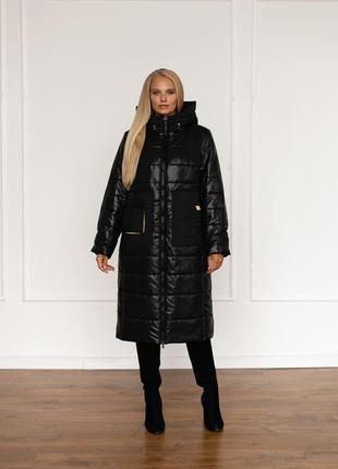 Женское зимнее пальто 48-58р-р