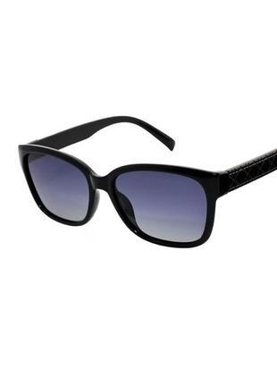 Солнцезащитные очки rich person polaroid странник черные