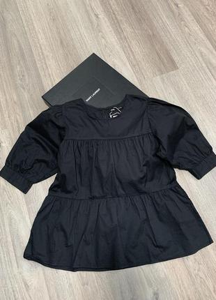 Новая блузка с актуальными объемными рукавами