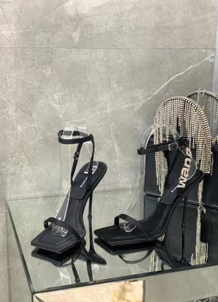Роскошные туфли босоножки в стиле alexander wang