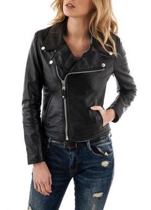 Новая кожаная косуха schott nyc100% кожа кожанка куртка оригинал премиум