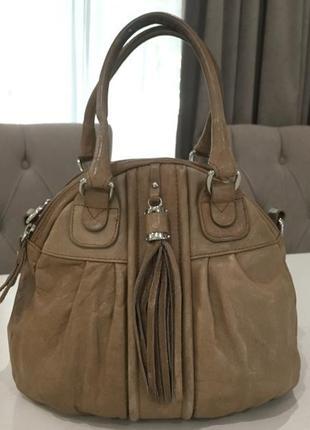 Брендовая кожаная сумка ридикюль бренд  pulicati