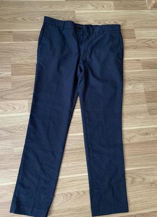 Классические синие брюки зара