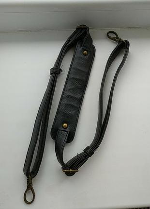 Шкіряна довга ручка на сумку