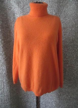 Кашемировый свободный свитер
