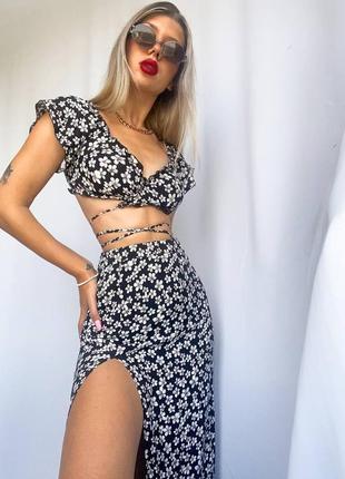 Костюм спідниця юбка и топ