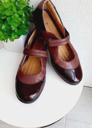 Туфли серии комфорт из натуральной кожи clarks 40-41