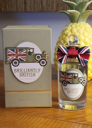 Penhaligon's brilliantly british оригинал_eau de parfum 5 мл затест распив отливанты