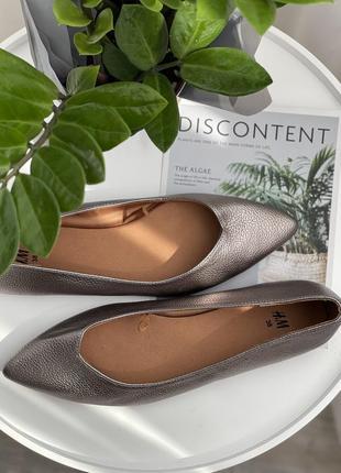 🌿38🌿 европа🇪🇺 h&m. фирменные качественные туфли