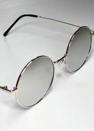 Якісні окуляри в срібній оправі 😎