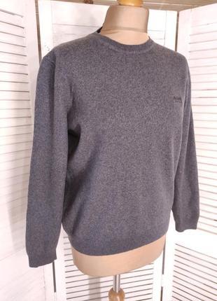 Шерстяной свитер hugo boss