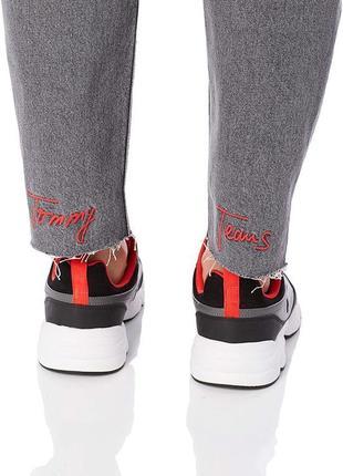 Джинсы высокая талия tommy jeans