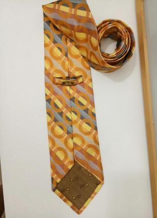 Steven land  шелковый галстук