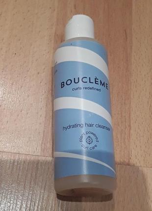 Бестеллер бренда boucleme- увлажняющее очищающее средство для волос( заменяет шампунь)