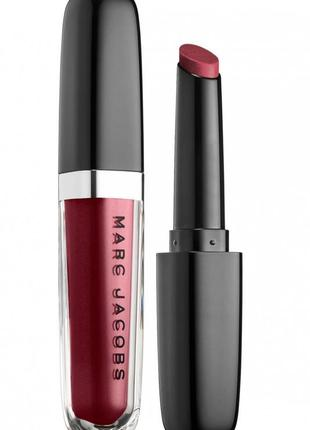 Помада- стик для губ marc jacobs enamored hydrating lip gloss stick one mauve time 556