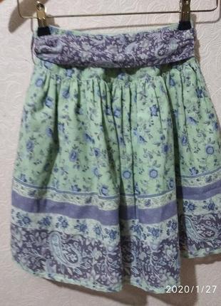 Нарядная и красивая юбка для девочки