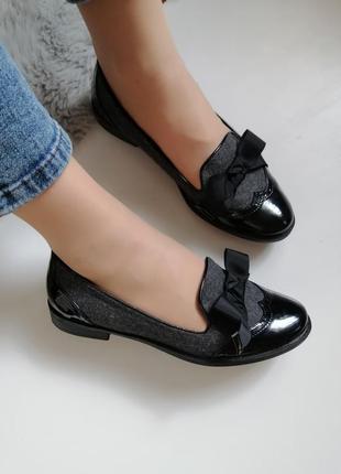 Женские мокасины лоферы туфли низкий ход 39р