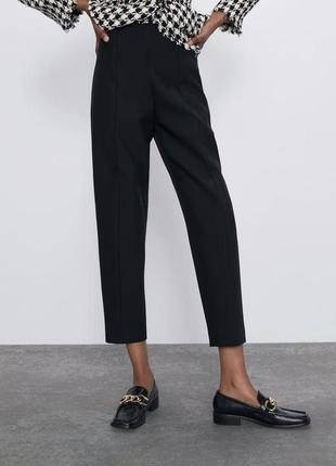 Черные брюки штаны zara ❤️