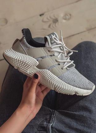 Шикарные женские кроссовки adidas prophere серый цвет