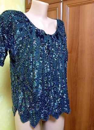 Шикарная нарядная блуза
