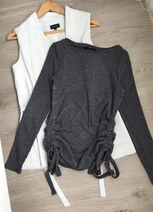 Идеальная кофточка джемпер с завязками по бокам