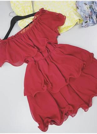 Красивое красное платье торга нет