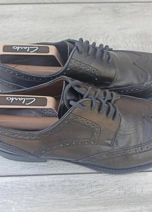 Calpierre мужские кожаные туфли броги оригинал 43-44 размер италия2 фото