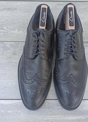 Calpierre мужские кожаные туфли броги оригинал 43-44 размер италия3 фото