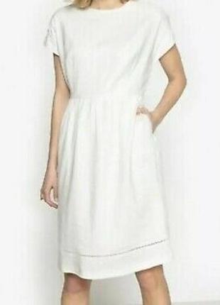 Красивое льняное платье франция