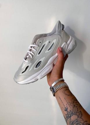 Женские кроссовки adidas ozweego 🔥 серые-белые наложенный платёж весна лето осень