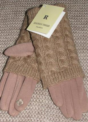 Перчатки митенки кашемировые сенсорные ranna isms оригинал качество расцветки в наличии