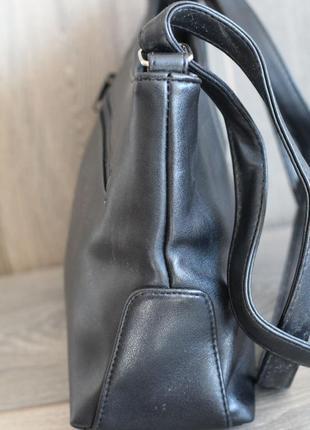 Актуальная сумка из натуральной кожи marc chantal