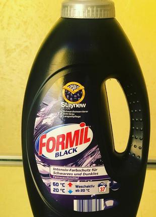 Концентрований гель для прання темних та чорних речей