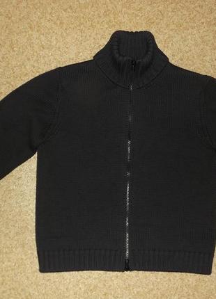 Теплая кофта giorgio armani wool zip seater