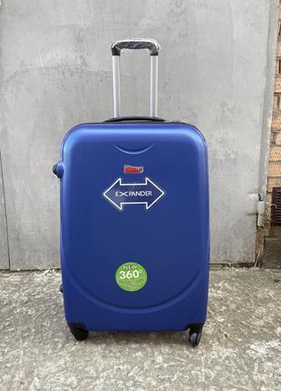 Sale❗️чемодан дорожный пластиковый на колёсах, валіза дорожня на колесах пластик, великий чемодан