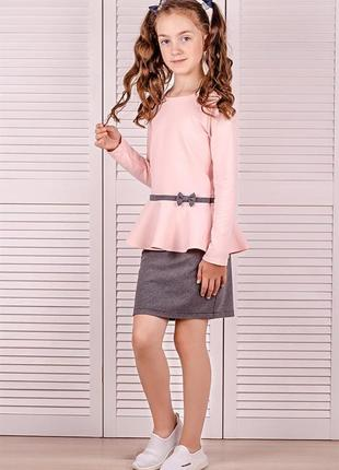 Блуза, рожева