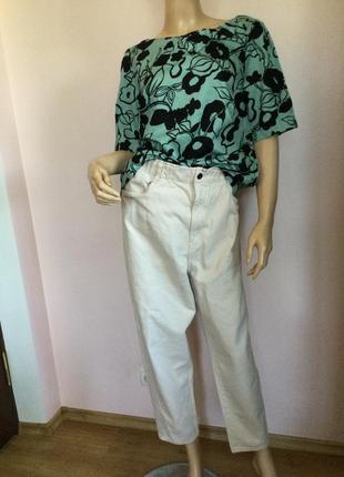 Фирменная хлопковая красивая блузка/xl- xxl/ brend monsoon