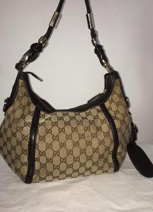 Gucci монограмм сумка оригинал винтаж